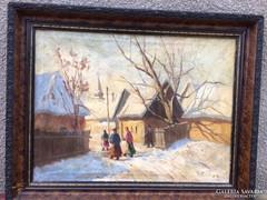 Antik festmeny 1900as evek elejerol magyar?????