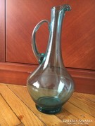 Antik türkiz üveg kancsó