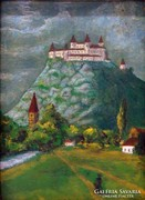 0L891 Ismeretlen festő : Krasznahorka vára