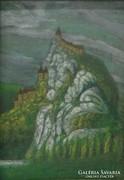 0L892 Ismeretlen festő : Árva vára