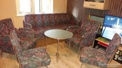 Bauhause ülőgarnitúra asztallal