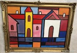 Barcsay Jenő 1900-1988 kossuth díjas magyar festő