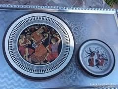 Görög dísztányér-falitányér 2 db hibátlan szép db.