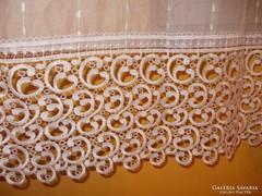 Gyönyörű török alsó részén csipke függöny