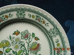 Angol színes porcelán tányér-Woods&Sons-20 cm