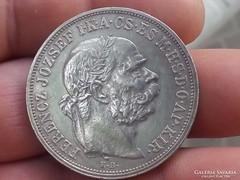 Ferenc József 5 korona 1909.Kb