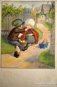 Pauli Ebner képeslap gyűjteményből  ---1931ben futott