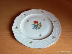 Herendi Tulipán mintás porcelán süteményes kínáló tál