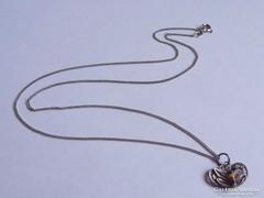 Ezüst nyaklánc filigrán tűzzománcos medállal