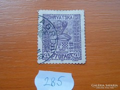 SZERB HORVÁT SZLOVÉN KIRÁLYSÁG 20 (MAGYAR) FILLÉR 1918 285.