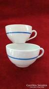 Eladó 2db régi zsolnay porcelán kávéscsésze