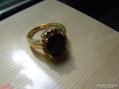 Aranyozott Ezüst gyűrű Akció !!