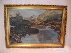 Tájkép festmény 57x80 cm