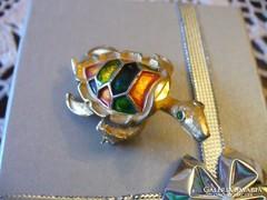 Szép aranyozott teknősbéka