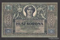 20 korona 1919. augusztus. 09. aUNC!!! EXTRA SZÉP!! RITKA!!
