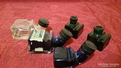 5db antik tintás üveg