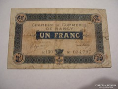 1 Francs 1918 Nancy