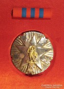 Orden zasluge za narod sa srebrnom zvezdom  ezüst kitüntetés