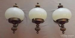Art Deco stílusú falikar , falilámpa szett