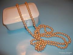 Gyönygyház  tenyésztett  gyöngysor