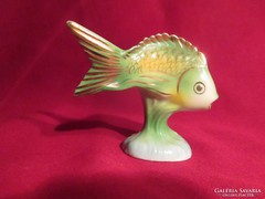 Hollóházi porcelán hal 8 cm 1740
