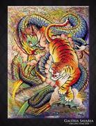 Küzdelem  Festmény 50x70