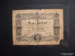 Kossuth 100 forint 1848