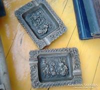 Antik réz hamusok