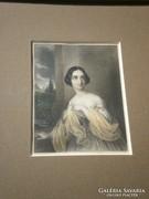 Eduard Ender (1822-1883) : Női portré