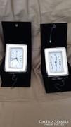 Ezüst óra 925-ös,ezüsttel díszített dobozban,Made in Italy