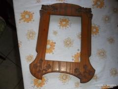 Nagyon régi faragott fakeret