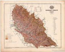 Máramaros vármegye térkép 1899, Magyarország atlasz (a)