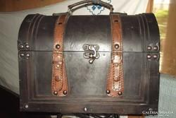 Fa bőrönd