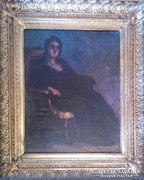 Ismeretlen festő: Ülő nő