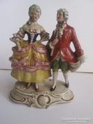 Német porcelán: ALTWIEN figura 1930-40 évekböl   Kézzel fest