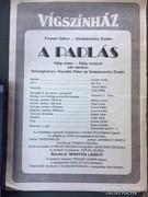 A padlás című musical műsorfüzete 1991-ből