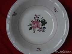 Olasz porcelán köretes tál  26 x 7 cm