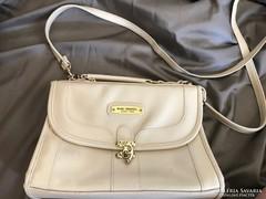 Antik törtfehér vintage luxus táska