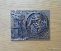 Lajos József (1936): Babits-plakett