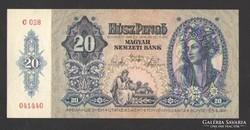20 pengő 1941.  EF++!!  GYÖNYÖRŰ !!!