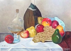 Asztali csendélet (58x42)
