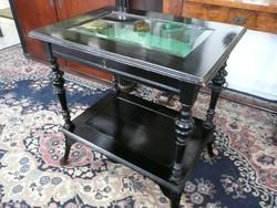 Hihetetlen ritka antik ékszeres asztalka eladó az 1800-as év