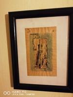 Vaszary János eredeti akvarell festmèny!