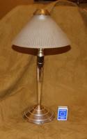 Exklusiv Party lámpa króm-üveg mécsessel működik
