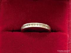 Fehérarany kisméretű  16 mm. 1,8 gram súlyú gyűrű eladó.