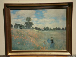 Claude Monet (1840-1926) : Poppy Field