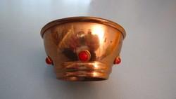 7 db bronz, réz tárgy együtt