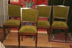 6 db.art-decó székek
