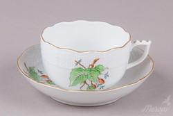 2db Herendi csipkebogyó mintás teáscsésze aljjal