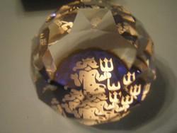 Swarovski jelzett díszdobozos levélnehezék U11